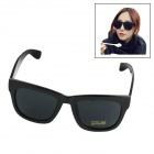 UV400 Protection Resin Lens Sunglasses for Women - Black