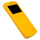 NILLKIN Protective PU Leather + PC Case Cover for Samsung Galaxy Grand 2 G7106 - Yellow