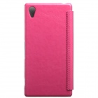 KALAIDENG Protective PU Leather Case Cover for SONY XPERIA Z2 - Peach