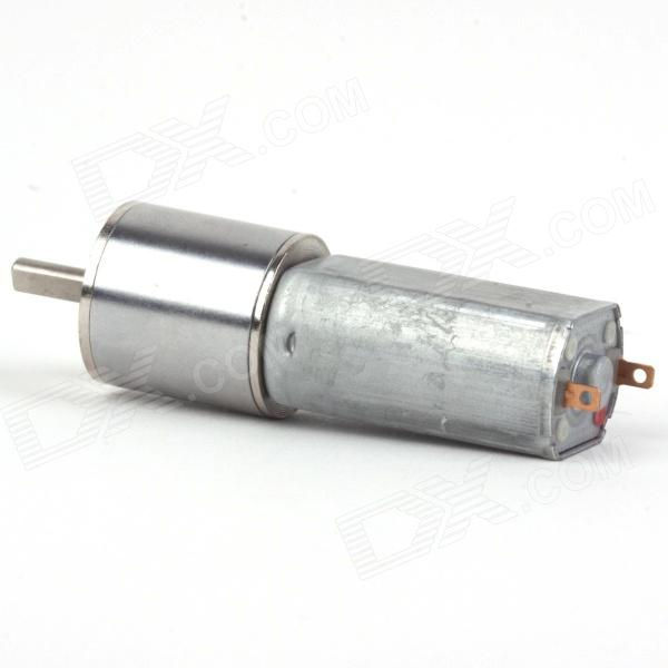ZnDiy -BRY DC 12V 6RPM Geared Motor - SilverMotors<br>ColorSilverBrandZnDiy-BRYModel16GA-6Quantity1 PieceMaterialIronEnglish Manual / SpecNoOther FeaturesVoltage: DC 12V; RPM: 6RPM; Length: 58mm; Diameter: 16mm; Shaft length: 9.5mm; Shaft diameter: 3mm; Torque: 6kg/cm.Packing List1 x Geared motor<br>