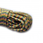 Acecamp Convenient Outdoor 4mm Camping PP Tent Rope - Blue + Pink + Yellow (30m)