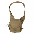 AONIJIE Outdoor Sports Water Resistant Tactical 900D Oxford One Shoulder Bag - Khaki