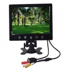 "1024x600 9"" VGA Touch Key TFT LCD PAL / NTSC Car Monitor w/ Dual Video Input, Remote Control - Black"