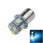 1141 / BA15S / 1156 / G18 2W 120LM 8-SMD 5050 LED Ice Blue Car Signal Light / Steering Lamp (12V)