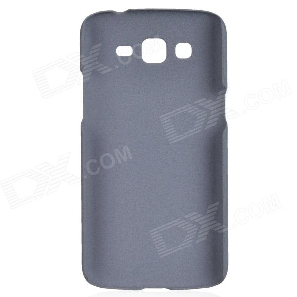TEMEI Quicksand Series Protective Plastic Back Case for Samsung G7106 - Grey temei protective plastic back case for samsung galaxy s5 red transparent