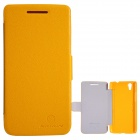 NILLKIN Protective PU Leather + PC Case for Lenovo S960 (VIBE X) - Yellow