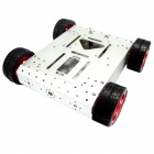 Robotbase RB-13k007 AS-4WD Aluminum Alloy Mobile Robot - Silver