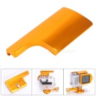 Aluminum Alloy Back Door Clip Safety Lock for GoPro Hero 3+ Dive Skeleton Housing - Golden