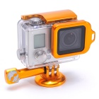 Fat Cat Back Door Clip Safety Lock for GoPro Hero 3+ Housing - Golden