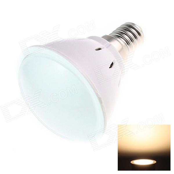 G02 E14 5W 120lm 2500K 20-SMD 2835 LED Warm White Light Bulb - White (AC 220~240V)