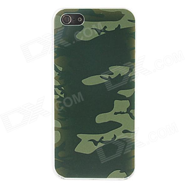 Kinston kst00064 Camouflage Pattern Protective Plastic Hard Back Case for IPHONE 5 / 5S - ACU kinston flowers