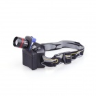YP-3912 Cree XP-E Q5 1-LED 200lm 3-Mode Cool White Outdoor Headlamp - Black (3 x AAA)