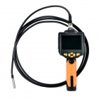 "WF200 Multifunctional 3.5"" True Color LCD Display Digital Borescope / Endoscope - Black + Orange"
