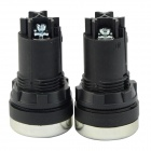 LA125J-11B 660V 10A Momentary-type Button Switches - Black (10 PCS)