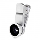 LIEQI LQ-008 4-in-1 Clip-On CPL + Fish eye + Wide Angle + Macro Lens Set for IPHONE / Samsung