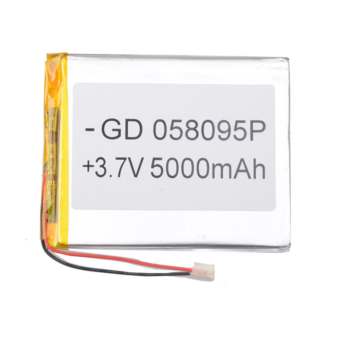Universal Replacement 3.7V 4000mAh Li-polymer Battery for 7~10 Tablet PC - Sliver (05 x 80 x 95) 4165135 4200mah lithium polymer battery pl 3 7v high capacity battery tablet pc