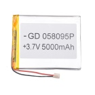 "Universal Replacement 3.7V 4000mAh Li-polymer Battery for 7~10"" Tablet PC - Silver"