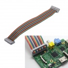 Waveshare PPI26M Motherboard 26 pines hembra a hembra Cable de datos para Raspberry PI (22cm)