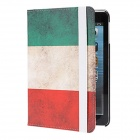 Kinston Flag of Guinea Pattern PU Leather Case Cover Stand for RETINA IPAD MINI / IPAD MINI