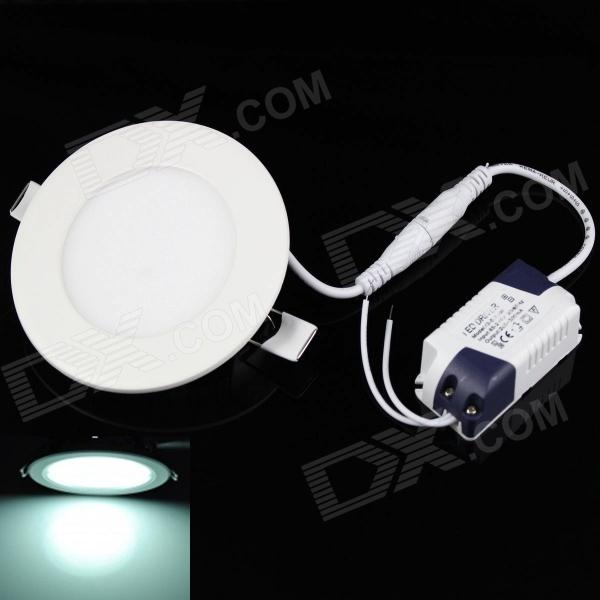 KINFIRE 12W Circular 980lm 6500K 60-SMD 3528 LED White Light Ceiling Lamp w/ Driver (AC 85~265V) kinfire square shaped 15w 1320lm 75 smd 3528 led white light ceiling lamp w driver ac 85 265v