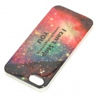 Novel Starlit Sky Pattern Protective PVC Back Case for IPHONE 5 / 5S - Multi-colored
