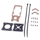 22mm CNC Aluminum Motor Mounting Holder Bracket for R/C Motors - Golden
