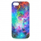 Novel Patterned Protective PVC Back Case for IPHONE 5 / 5S - Multi-colored
