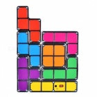 KM-05-01 DIY Tetris Style Adjustable Light Lamp - Purple + Red + Multi-colored (100~240V)