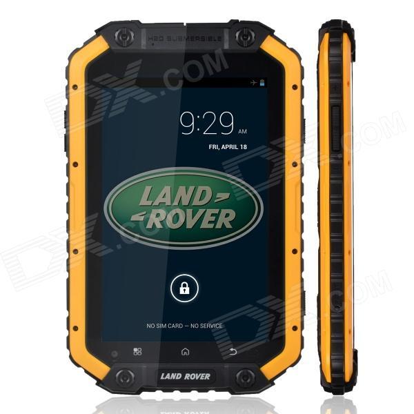 Land Rover A-PAD 7.0 Quad Core Android 4.2 Tablet PC w/ 1GB RAM, 16GB ROM, Bluetooth -Black +Yellow руководящий насос range rover land rover 4 0 4 6 1999 2002 p38 oem qvb000050