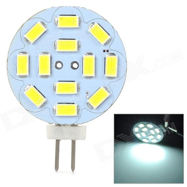 JRLED G4 4W 300LM 6500K White Light 12-5630 SMD LED Leselampe m / kondensator for bil (12V)
