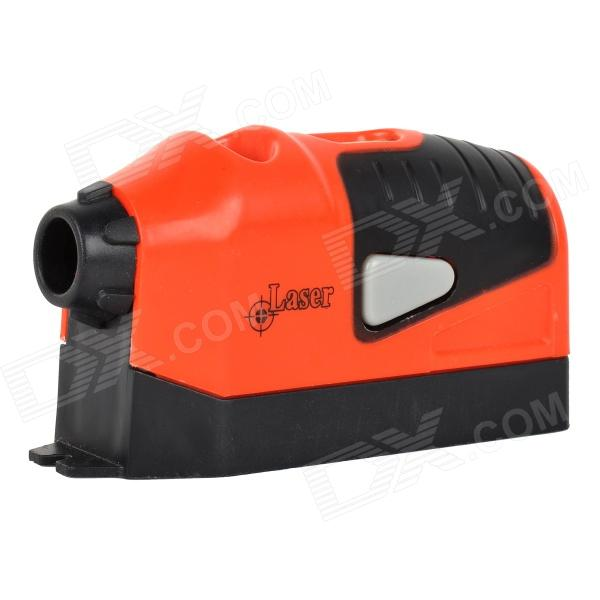 Laser Level Measuring Leveling Instrument - Black + Orange (2 x AAA)