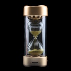 Hourglass Style 2.1-Channel Bluetooth V2.1 Speaker - Golden + Transparent