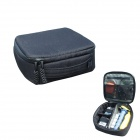 TMC HR139-FG Water Resistant Soft Nylon + PU Camera Case for GoPro Hero 3 / 3+ / SJ4000 - Black