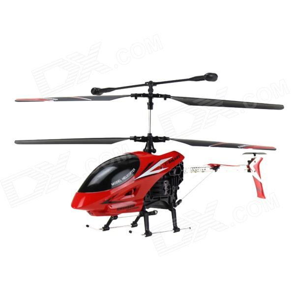 XBM-23 Shatterproof Anti-wrestling 3.5 Channel Remote Control Helicopter - Red
