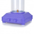 PlAY4FUN AS8083D Cylindrical USB Audio Decorative Fish Tank / Aquarium Speaker w/ LED - Purple