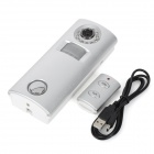 SINOPINE SP63C 130dB Wireless Solar Powered Alarm w/ 0.3MP Camera - Silver (3 x AA)