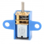 N10 DIY 3V 80rpm Gear Motor w/ Holder for Model Car - Blue + Silver + Golden
