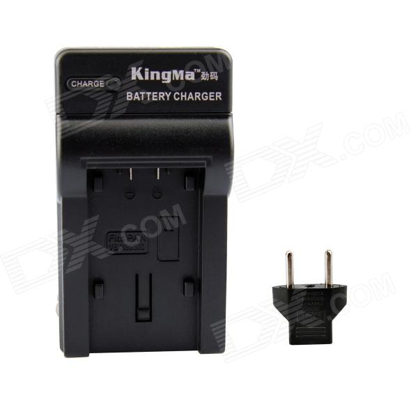 Kingma Battery Charger Kit for PANASONIC VBK180/360/VW-VBL090/VW-VBY100/VBT190 (EU Adapter Included)