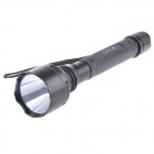 Focus Pro A61 Cree XP-E Q5 1-LED 220lm 3-Mode Cool White Flashlight w/ Strap - Black (2 x 18650)
