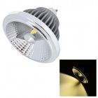 YK0454 13W 900lm 4100K 2-COB LED Ceiling Light - Grey + Silvery White (AC 100~240V)