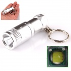 ALETO KL209S 1-LED 690lm 3-Mode White Light Mini Flashlight - Silver (1 x 16340)