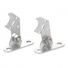LSON Aluminum Alloy Wall Mount Holder for Light Bar (2PCS)