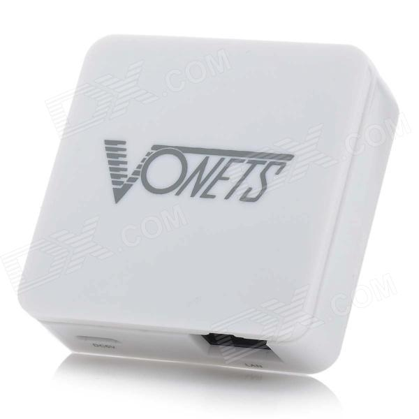 VONETS MINI300 Mini Portable 300Mbps Wireless Wi-Fi Repeater - White
