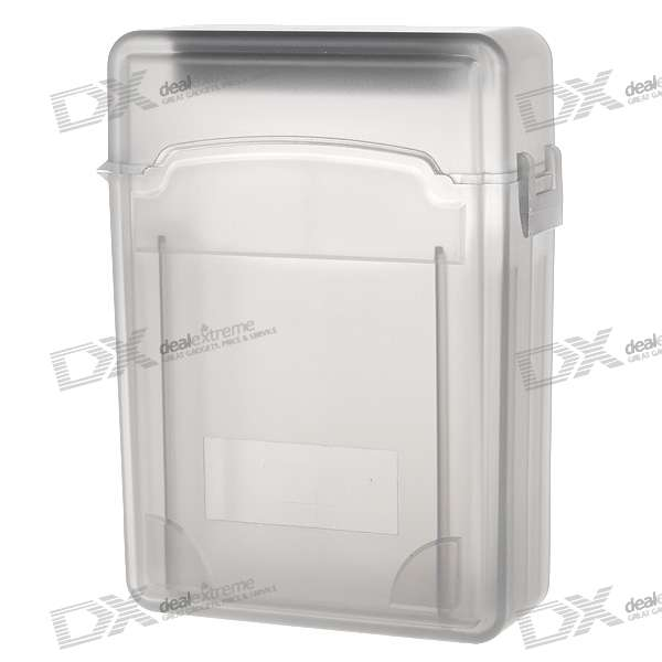 "Protective Plastic Case for 2.5"" SATA HDDs (Translucent Black)"