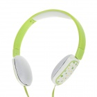 Sibyl X-10 Stylish Headband Headphones - Green (3.5mm Plug / 110cm-Cable)