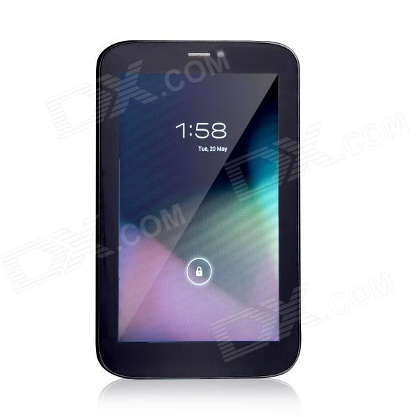 "T733 7.0"" Dual Core Android 4.2 GSM Phone Tablet PC w/ 512MB RAM, 4GB ROM - Black"
