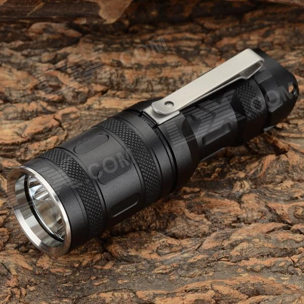 SUNWAYMAN T6 340LM LED 8-mode Blue + Red + White Memory Flashlight (1 x CR123A / 16340)