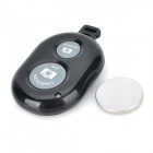 R-sim Bluetooth V3.0 Wireless Remote Control Shutter for IPHONE + More - Black + Grey (1 x CR2032)