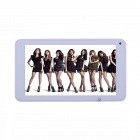 "TEMPO MS708 7"" Dual Core Android 4.1 Tablet PC w/ 512MB RAM, 4GB ROM, Camera - White"