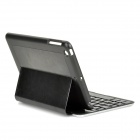 Yerj-F2S 70-key Bluetooth V3.0 Keyboard Case w/ Auto Sleep RGB LED for IPAD MINI - Black + Silver